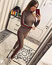 Женский спортивный костюм из тонкого замша 33spt226, фото 3