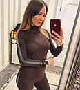 Женский спортивный костюм из тонкого замша 33spt226, фото 4
