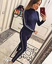 Женский спортивный костюм из тонкого замша 33spt226, фото 6