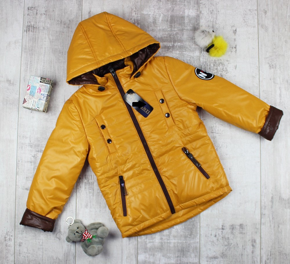 Весенние курточки детские для мальчиков