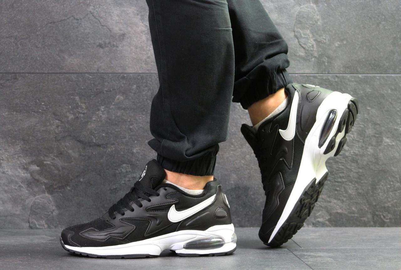 1b07aa27 Мужские Кроссовки Nike Air Max 2 Light Black — в Категории ...