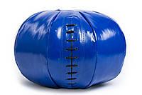 Медбол 3 кг черно-синий