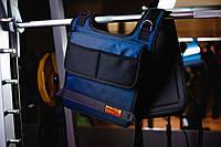 Утяжелительный жилет 20 кг (песок) 46-48, синий