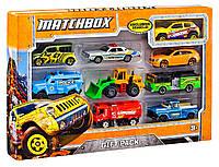 Игровой набор с 9 автомобилями Матчбокс Matchbox