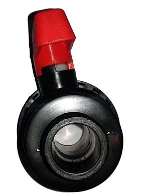 """Кран шаровый DN25 D32 1"""", фото 2"""