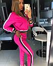 Женский спортивный костюм с укороченной мастеркой на молнии 18spt244, фото 3