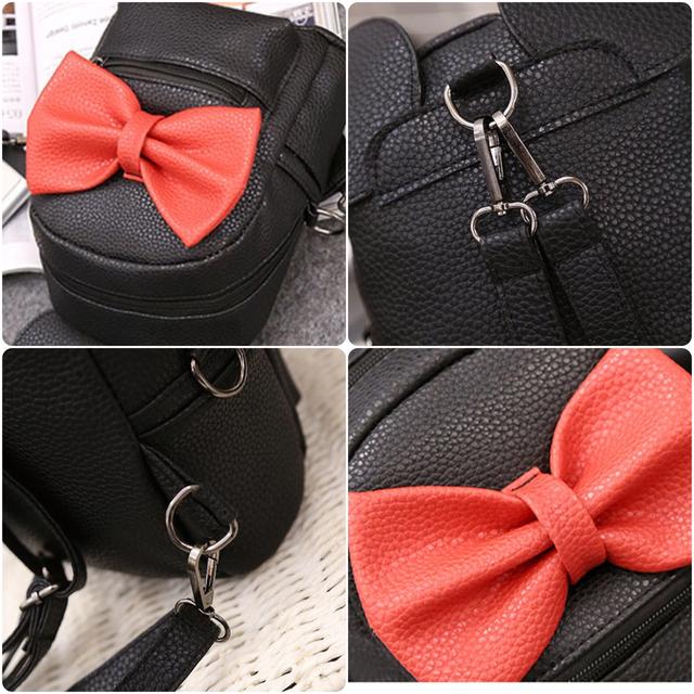 Женский рюкзак Микки с ушками детальное фото