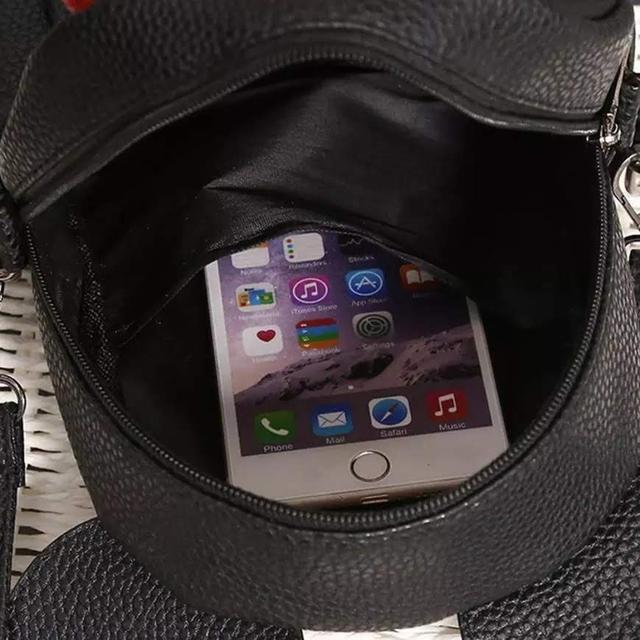 Женский рюкзак Микки с ушками внтури