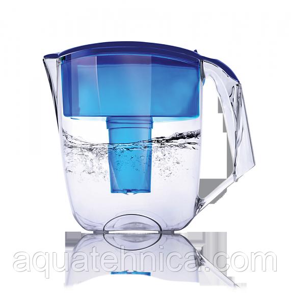 Фильтр-кувшин для воды НАША ВОДА Луна синий 3,5 литра