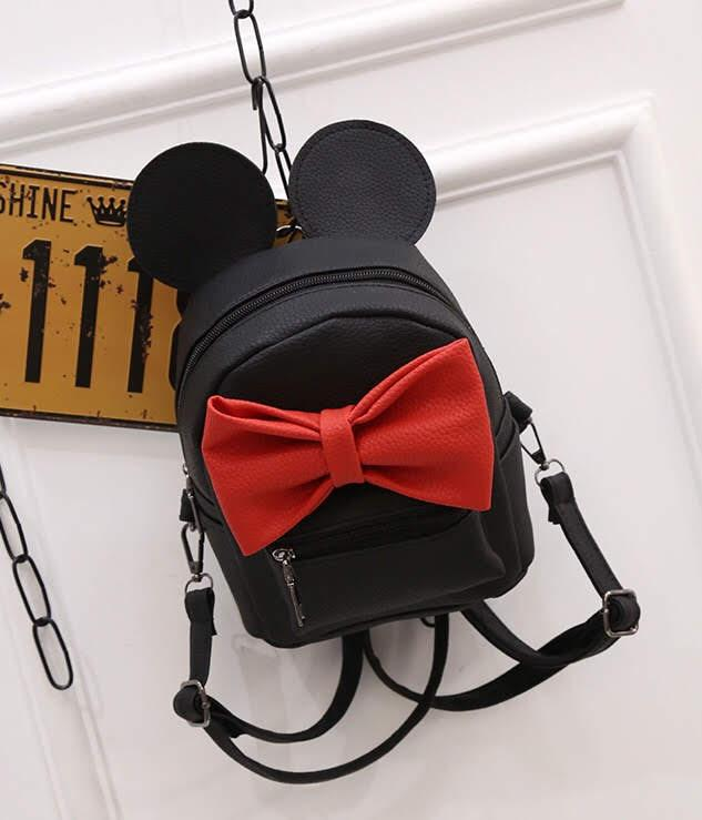 Женский рюкзак Микки с ушками