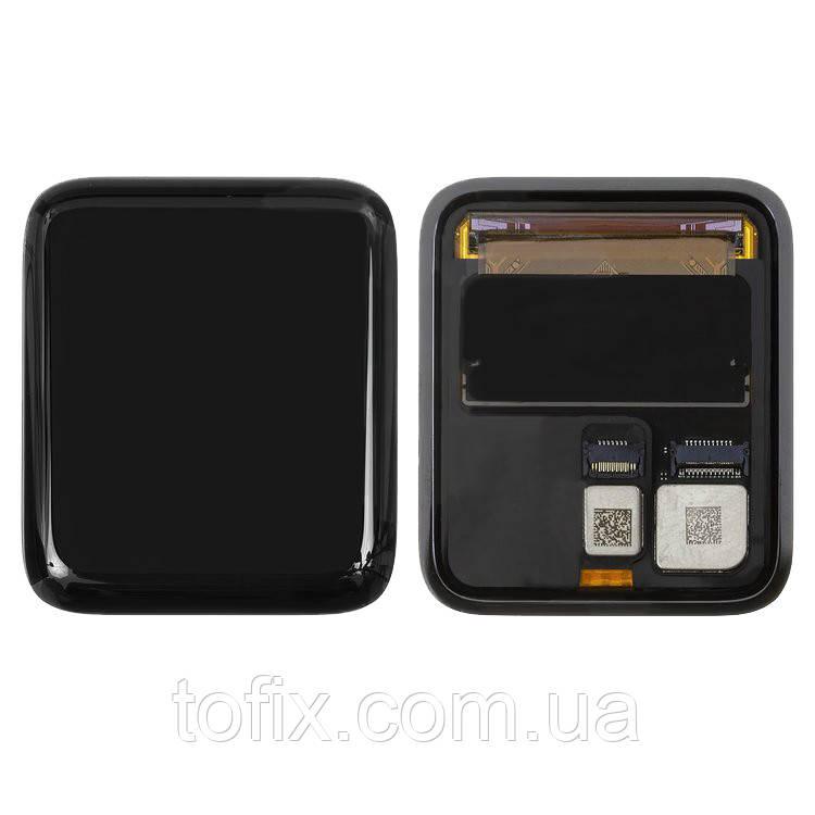 Дисплейный модуль (экран и сенсор) для Apple Watch 2 42 mm, черный