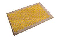 Коврик массажно-аккупунктурный Lounge maxi 80х50 см желтые фишки
