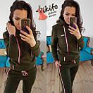 Женский спортивный костюм из трехнитки на флисе 20spt283, фото 2