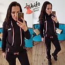 Женский спортивный костюм из трехнитки на флисе 20spt283, фото 4