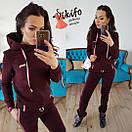 Женский спортивный костюм из трехнитки на флисе 20spt283, фото 5