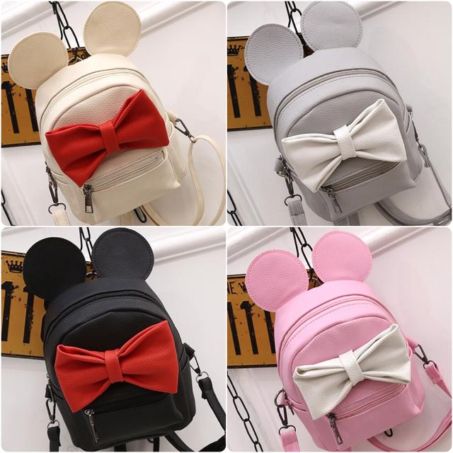 Женский рюкзак Микки с ушками все цвета