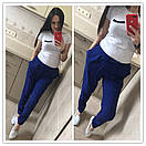 Женские брюки на резинке прямого кроя 51bil243, фото 3