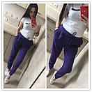 Женские брюки на резинке прямого кроя 51bil243, фото 4