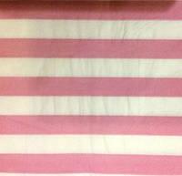 Салфетки праздничные бумажные розовые в полоску