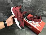 Мужские кроссовки Nike Air Huarache (Бордовые) , фото 4
