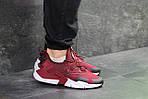 Мужские кроссовки Nike Air Huarache (Бордовые) , фото 5