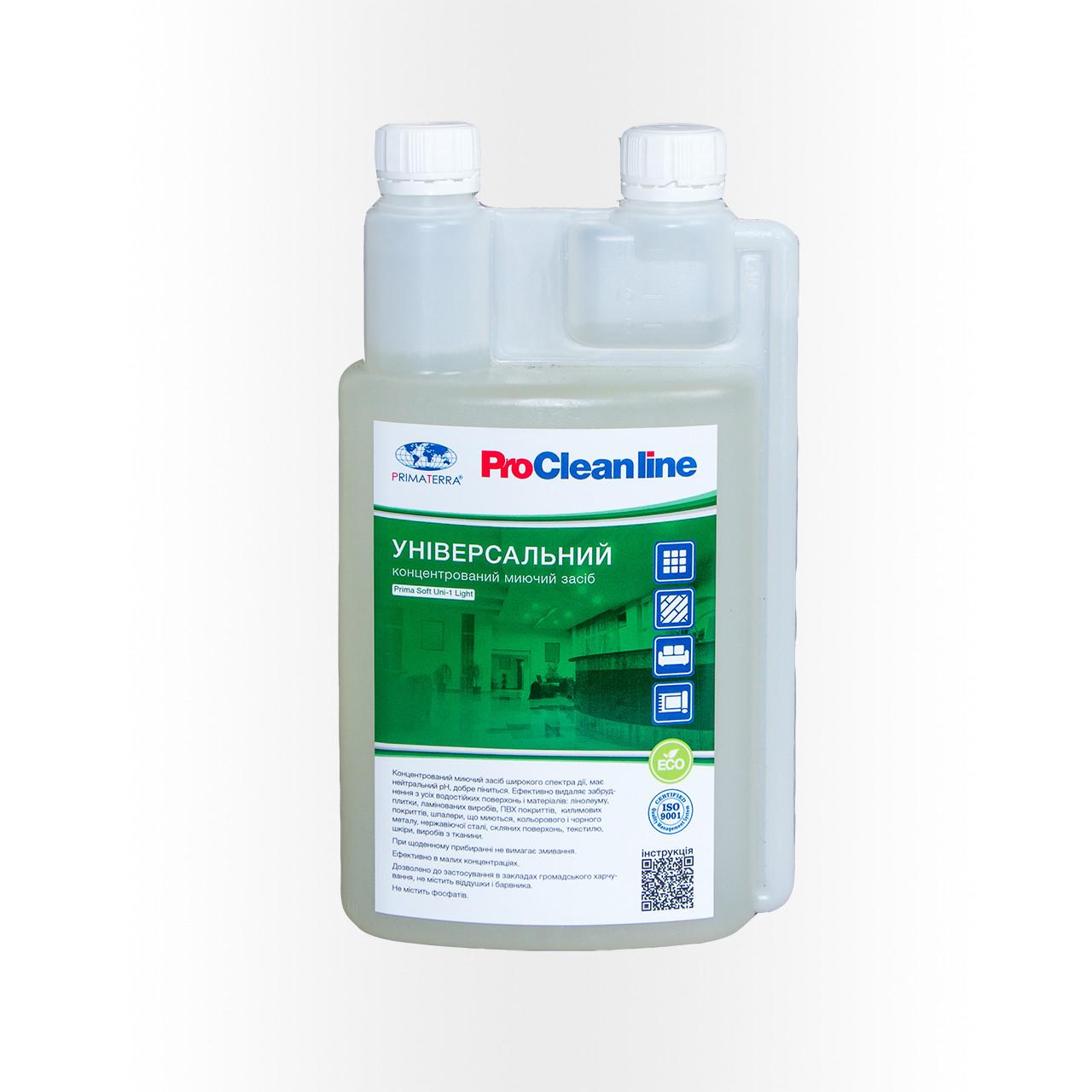 Универсальное моющее средство концентрат PRIMATERRA Soft Uni-1 (1кг)Д