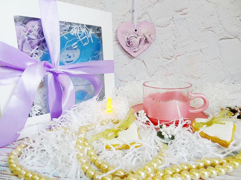 Подарок девушке, любимой, подруге - Авторская 3D чашка