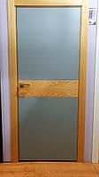Двери межкомнатные шпон/покраска горизонт