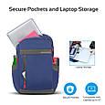 "Рюкзак для ноутбука Promate Metro 13.3"" Blue, фото 4"