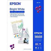 Фотобумага Epson Bright White Ink Jet Paper Матовая, 90г/м кв, А4, 500л (C13S041749)