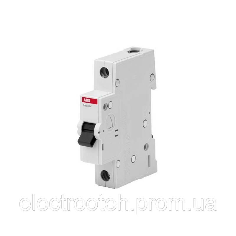 Автоматический выключатель ABB (1Р, 6А, C) 4.5кА