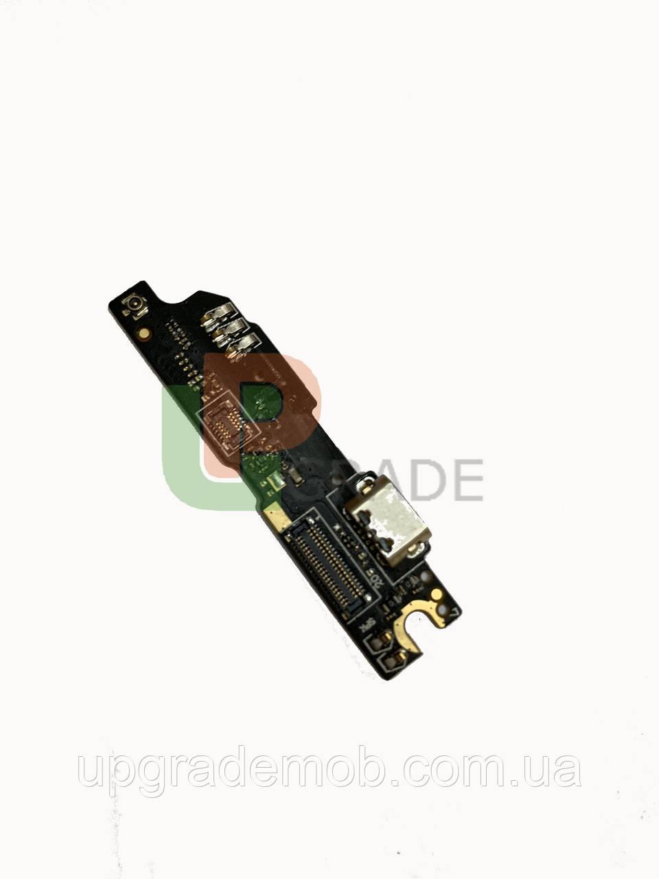 Шлейф Meizu M3 Note L681H, з роз'ємом зарядки, з мікрофоном, плата зарядки, з кнопкою меню, версія:3.0