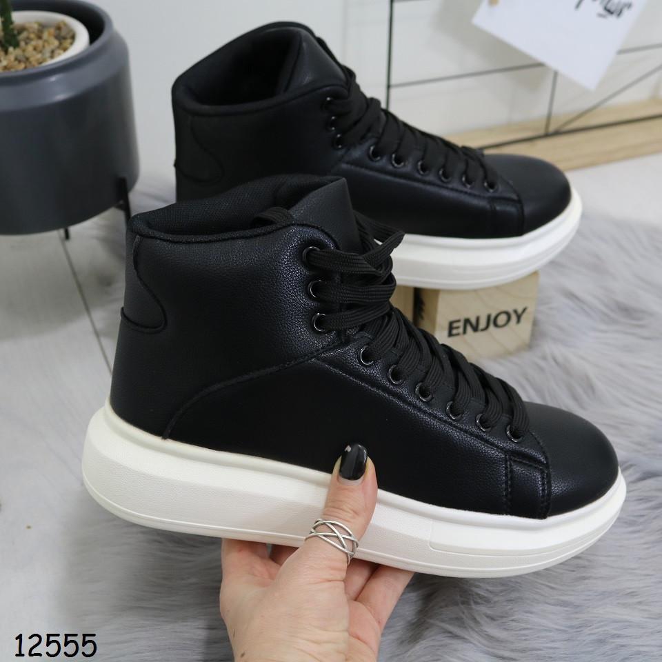 Демисезонные женские ботинки сникерсы
