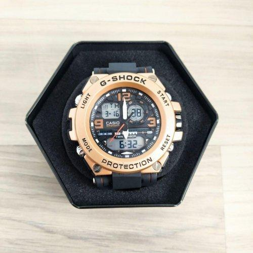 Наручные часы Casio G-Shock GLG-1000 Black-Cuprum-White реплика