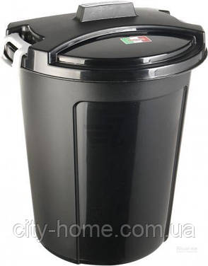 Контейнер для мусора Heidrun с крышкой 75 л, фото 2