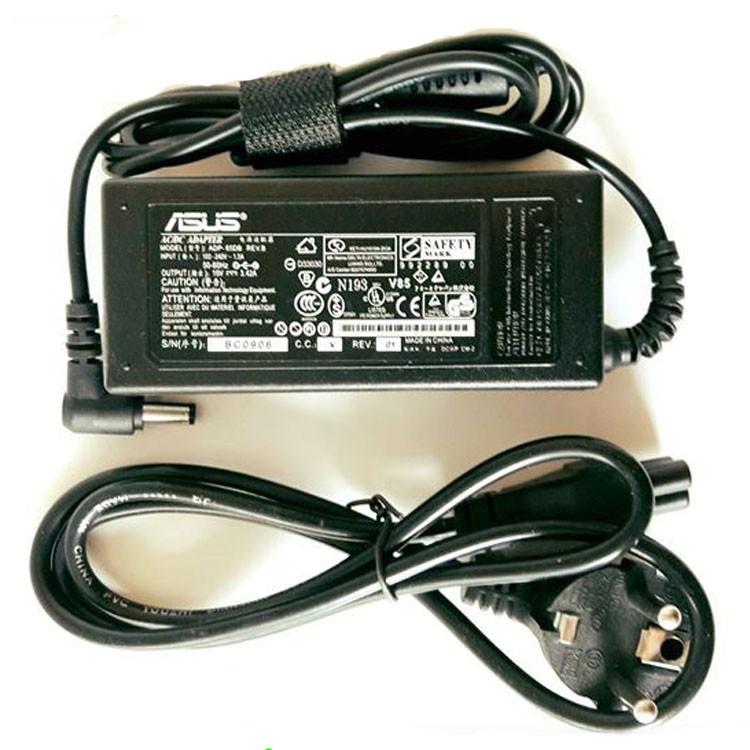 Блок питания для ноутбука Asus 19V 65W 5.5х2.5 с сетевым кабелем зарядное устройство для ноута зарядка Аcус