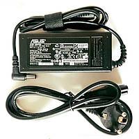 Блок питания для ноутбука Asus 19V 65W 5.5х2.5 с сетевым кабелем зарядное устройство для ноута зарядка Аcус, фото 1