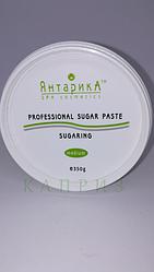 Сахарная паста для шугаринга Янтарика профессиональная medium 350 грамм
