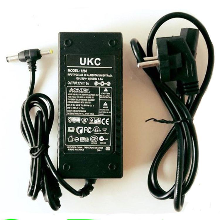 Универсальный блок питания UKC 1260 адаптер 72Вт 6А 12В зарядное устройство зарядка 72W 12V