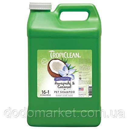 Tropiclean Awapuhi & Coconut отбеливающий шампунь для кошек 3.8 л