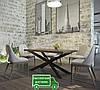 Стол обеденный Икс. Размер 1600х800х750