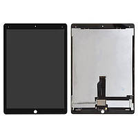 """Дисплейный модуль (экран) для iPad Pro 12.9"""" 2015 A1584, A1652, со шлейфом, черный, оригинал"""