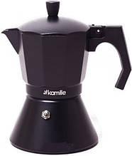 Кофеварка 150 мл гейзерная индукция Kamille 2511