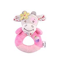 Погремушка - игрушка мягконабивная Коровка