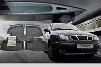 Автомобильные коврики резиновые в салон для Daewoo Lanos Sens