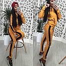 Женский спортивный костюм с ломпасами и капюшоном 58spt326, фото 6