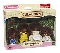 Calico Critters Hedgehog Family Сильваниан Фемелис семья Ёжиков