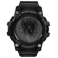 Часы наручные 1384 SKMEI, черные