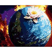 """Роспись по номерам """"Планета"""" в кор. 40*50см, ТМ ArtStory Артикул: AS0309 Ухти-Тухти Кривой Рог"""