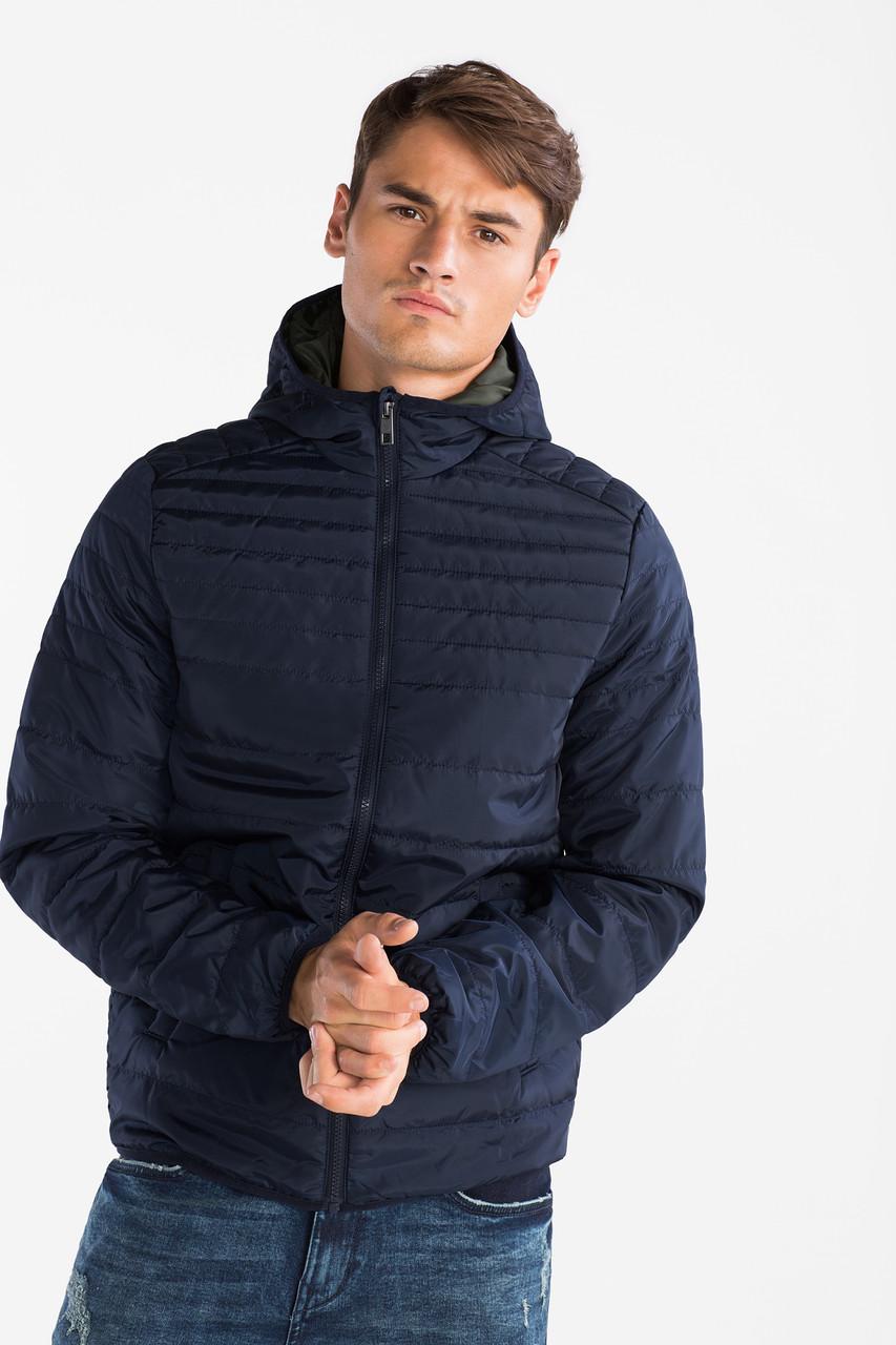 Синяя подростковая куртка для мальчика C&A Германия Размер XS (176)